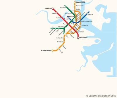 Enlace a Evolución del metro de Boston entre el 1897 y 2009