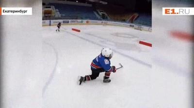 Enlace a Así es cómo los rusos se entrenan para el hockey. Nunca decepcionan