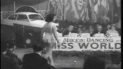 Enlace a Concurso de Miss Mundo en 1950
