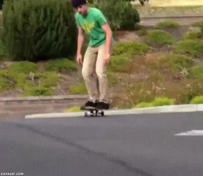 Enlace a Cuando te inventas un nuevo estilo con el skate