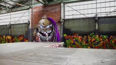 Enlace a Hyperlapse de unos increíbles graffitis