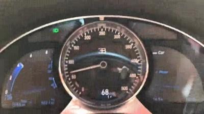Enlace a La espectacular aceleración del Bugatti Chiron