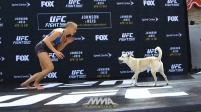 Enlace a Sin duda ha sido el rival más difícil de esta luchadora de MMA