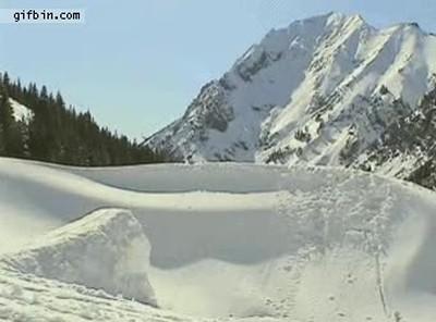 Enlace a Yo el primer día que fui a esquiar