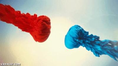 Enlace a Lo que realmente pasa cuando mezclas dos colores