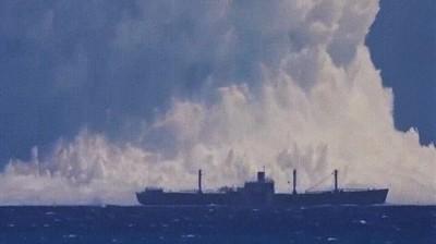 Enlace a Imagina la tensa sensación de ver esa explosión desde el barco