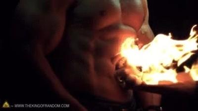 Enlace a Lo que pasa cuando le pegas un puñetazo de llamas a un tío con abdominales del tamaño de tu espalda