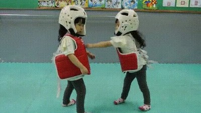 Enlace a Uno de los combates de Taekwondo más tensos de la historia