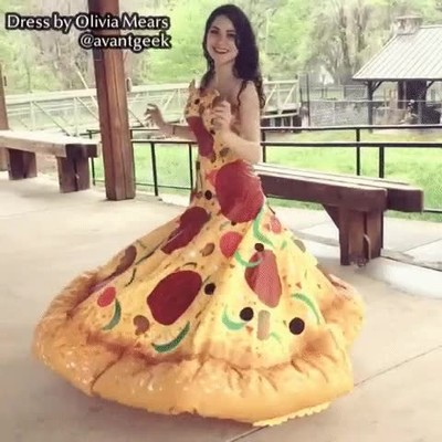 Enlace a El vestido de pizza es el mejor vestido del mundo