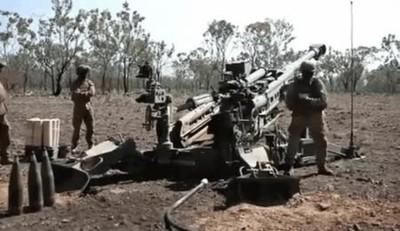 Enlace a La increíble potencia de un fuego de artillería