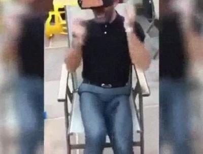 Enlace a La reacción de este hombre al probar por primera vez la Realidad Virtual es magnífica