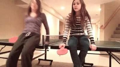 Enlace a Lo que suele pasar cuando utilizas la mesa de ping pong para tus tonterías
