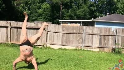 Enlace a Entrenando para llegar a ser el ninja más popular de todo el verano