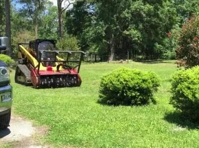 Enlace a La máquina que tiene atemorizados a todos los arbustos