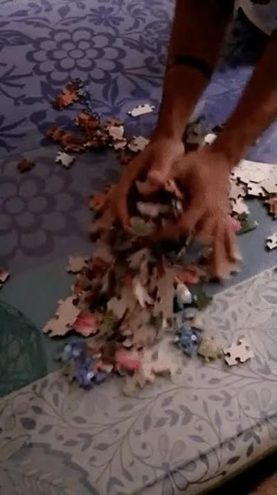 Enlace a Su superpoder es hacer puzzles complejos en cuestión de segundos