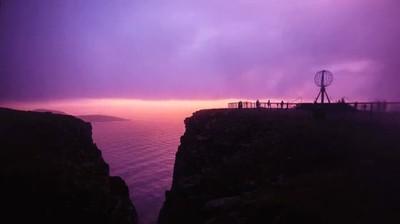 Enlace a Espectacular puesta de sol en noruega. Paisajes que enamoran