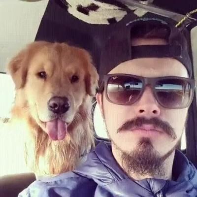 Enlace a Perros que imitan a su amo a la perfección