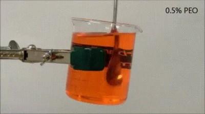 Enlace a El alucinante comportamiento de un fluido viscoelástico