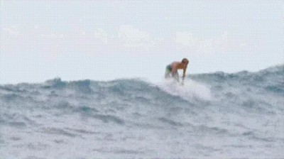 Enlace a Surfear en una tabla Hydrofoil