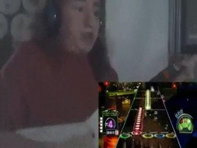 Enlace a Cuando te conviertes en un maestro ninja de Guitar Hero