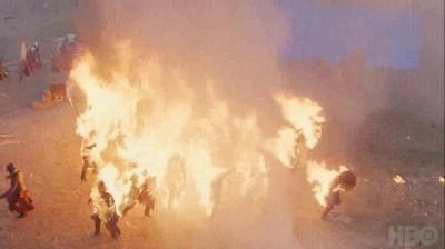 Enlace a Así se grabaron las bestiales escenas del último capítulo de Juego de Tronos