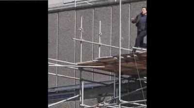 Enlace a Tom Cruise haciéndose pupita en esta escena de Mission Imposible
