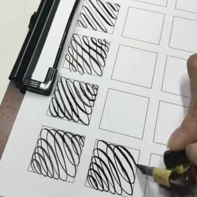 Enlace a Practicando caligrafía