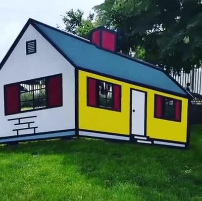 Enlace a Casa 3d, ilusión óptica