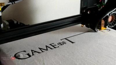 Enlace a Impresora 3D haciendo una camiseta de Juego de Tronos