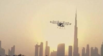 Enlace a Los taxis voladores existen. Puedes subir a uno de ellos en Dubai