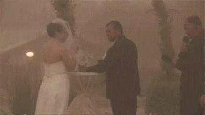 Enlace a Cuando la naturaleza parece oponerse a esta boda