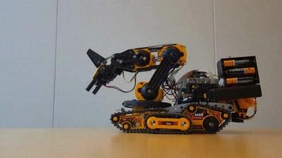 Enlace a Robots con una educación exquisita