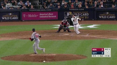 Enlace a Byron Buxton atrapando la pelota de su vida contra los Yankees