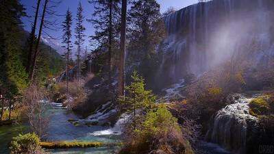 Enlace a Jiuzhaigou Valley National Park. Uno de los sitios más bonitos del mundo