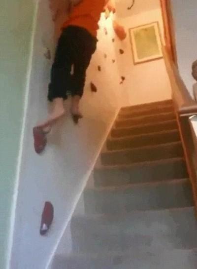 Enlace a Una nueva modalidad. Las escaleras son lava