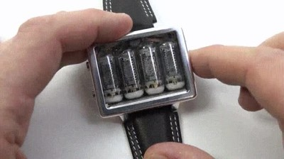 Enlace a Un reloj que encantará a todos los fans de lo retro