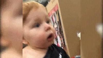 Enlace a La cara de un niño que va por primera vez a los grandes almacenes