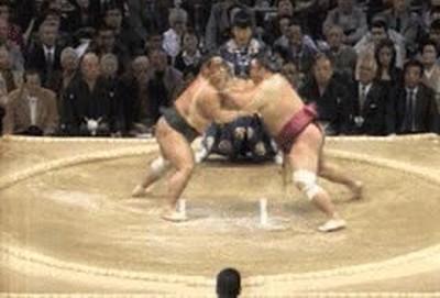 Enlace a Si los combates de sumo fuesen así no me perdería ninguno