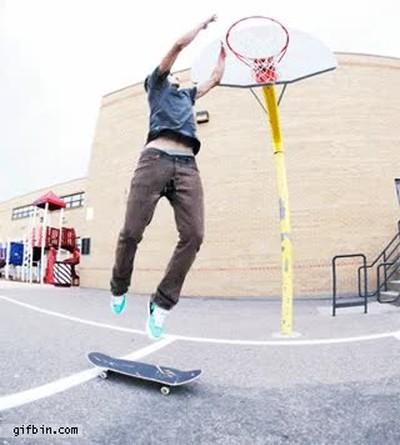 Enlace a La forma perfecta de mezclar skate y baloncesto