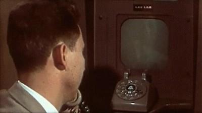 Enlace a Así eran las llamadas de Skype en 1956.