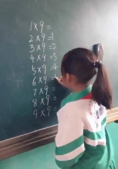 Enlace a El truco para aprenderse la tabla del 9