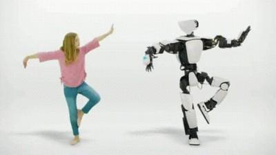 Enlace a Un robot que imita todos tus movimientos