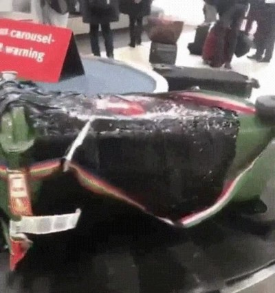 Enlace a Así tratan tu maleta algunas compañías de viaje