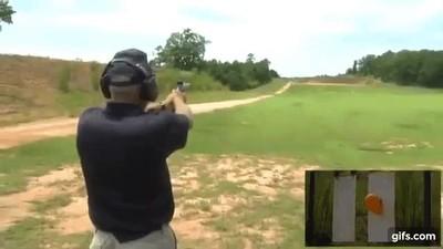 Enlace a El increíble disparo preciso a 914,4m con una 9mm