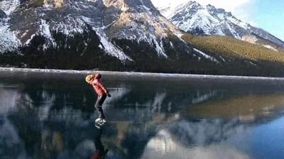 Enlace a Ahora ya sabe lo que se siente al patinar sobre el cielo