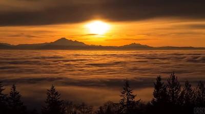 Enlace a Vancouver te ofrece una de las puestas de sol más bonitas del mundo