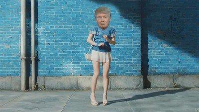 Enlace a La reacción de Trump cuando tenga su querido muro
