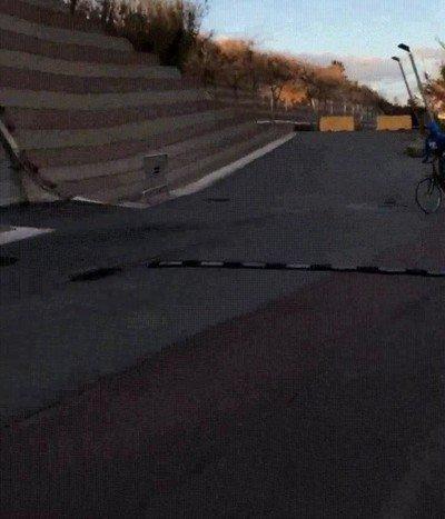 Enlace a El muro preferido de todos los ciclistas para hacer acrobacias