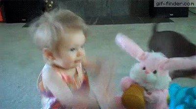 Enlace a Esta niña tiene más energía que el conejo de Duracell