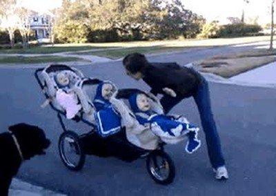 Enlace a El truco de una madre para desear los buenos días a sus trillizos